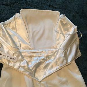 0daafec66a5 Jill Stuart Other - Jill by Jill Stuart white strapless pant suit! NWT